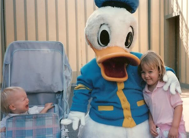 Strange Photos from Disney Parks