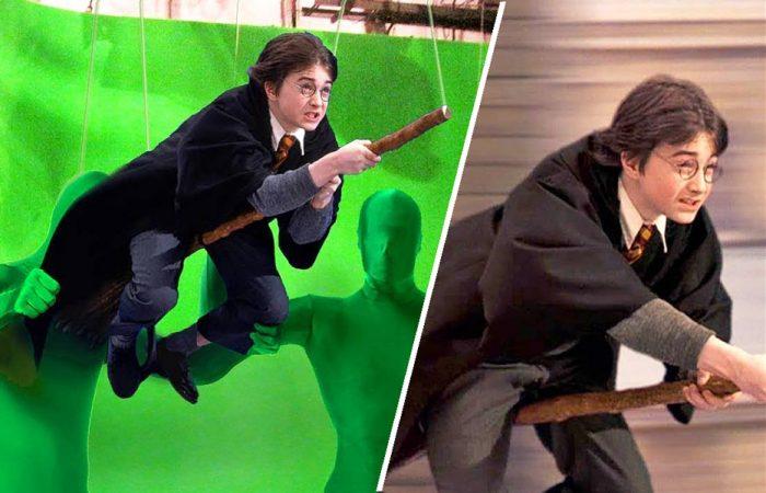 Harry Potter green screen