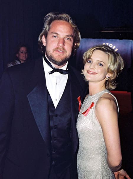 photo of Courtney Thorne-Smith and Andrew Conrad
