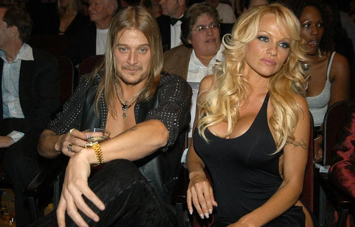 photo of Pamela Anderson and Kid Rock