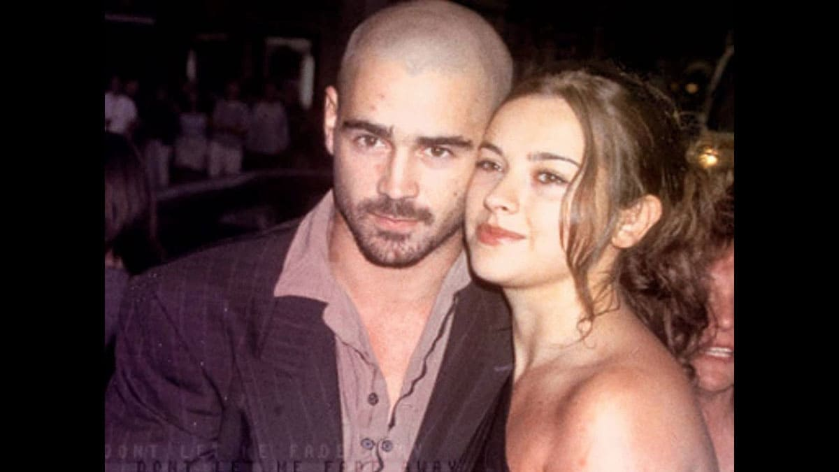 photo of Colin Farrell and Amelia Warner