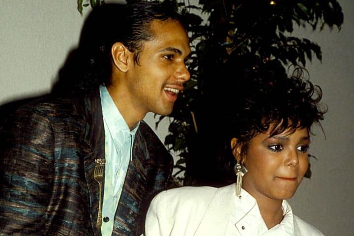 photo of Janet Jackson and James DeBarge