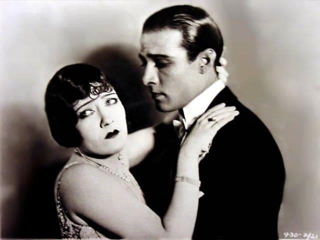 photo of Rudolph Valentino & Jean Acker