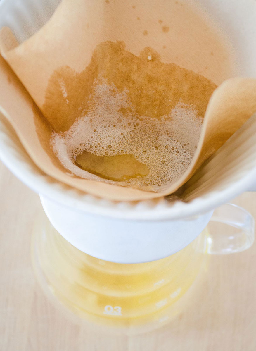 Strain the Butter Through a Coffee Filter