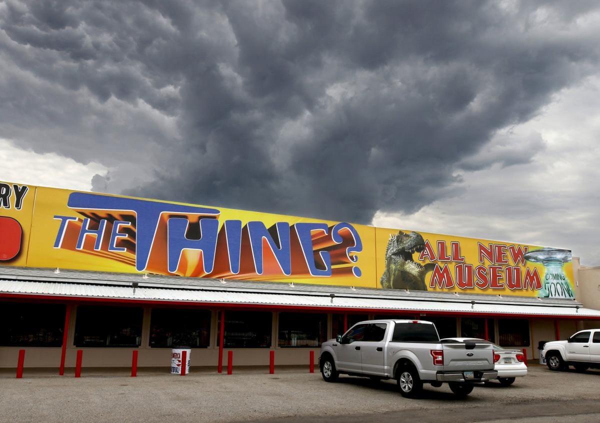 Texas, Canyon, Arizona: The Thing