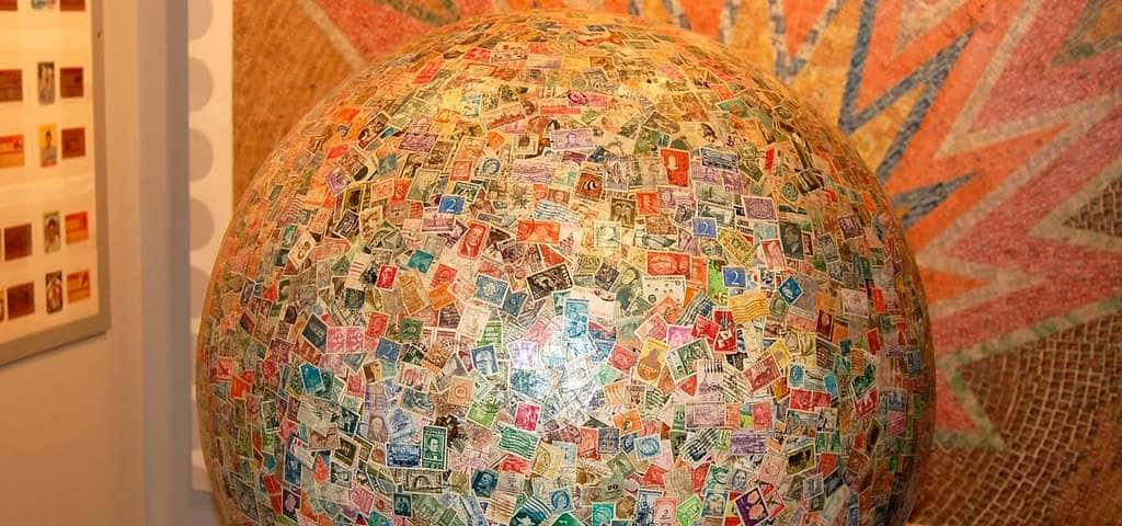 The World's Largest Ball of Stamps