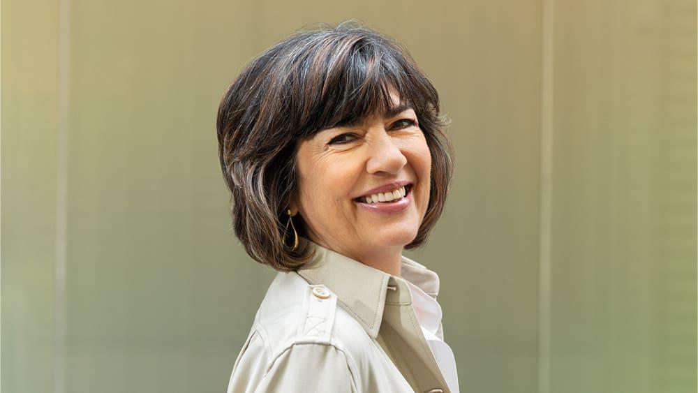 Christiane Amanpour reporter
