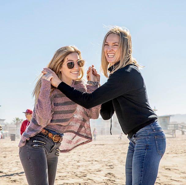 Heidi and Renae Moneymaker