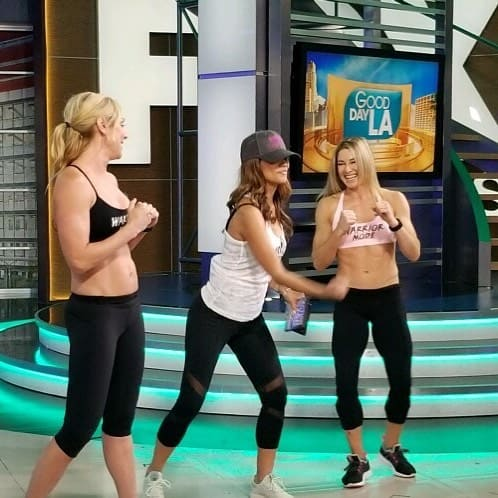 Moneymaker sisters working out