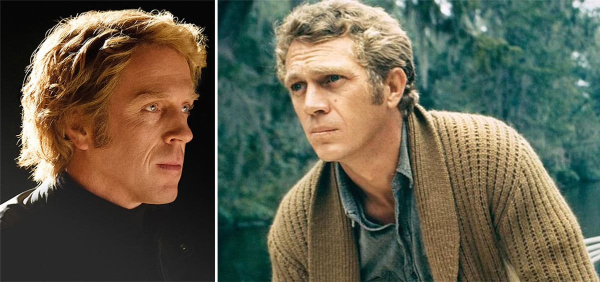 Damian Lewis and Steve McQueen
