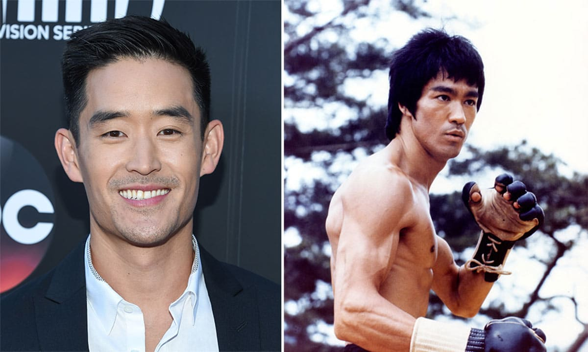 Mike Moh and Bruce Lee