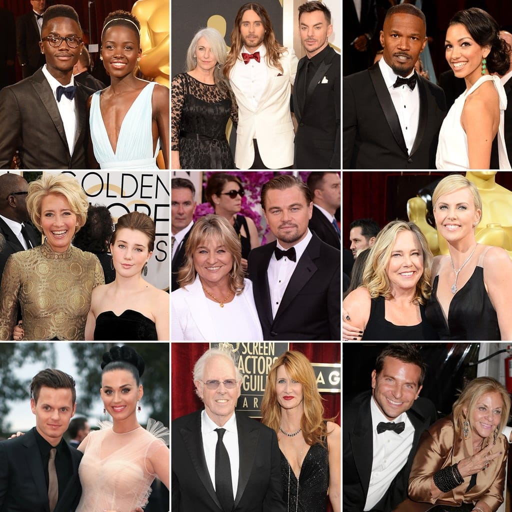 Celebs and their parents