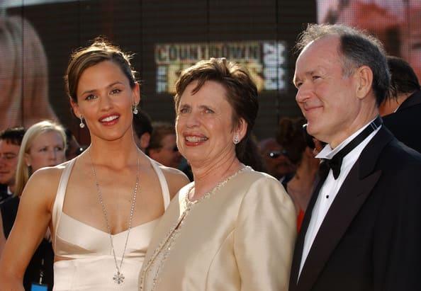 Jennifer Garner and her parents