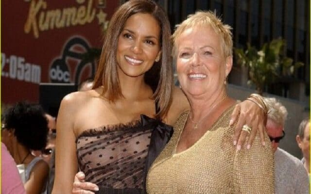 Halle Berry and her mother