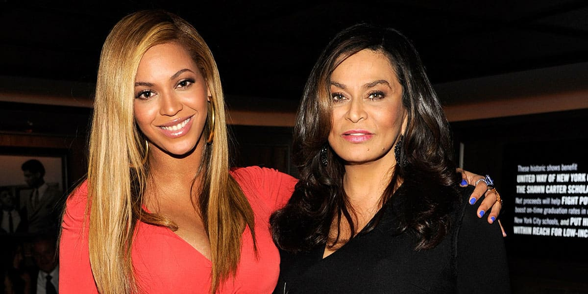 Beyonce and her mother