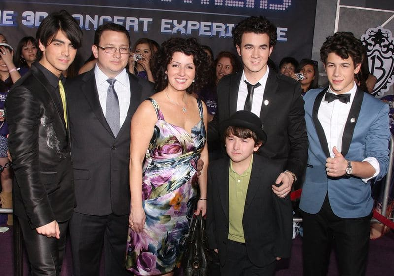Jonas Brothers and their parents