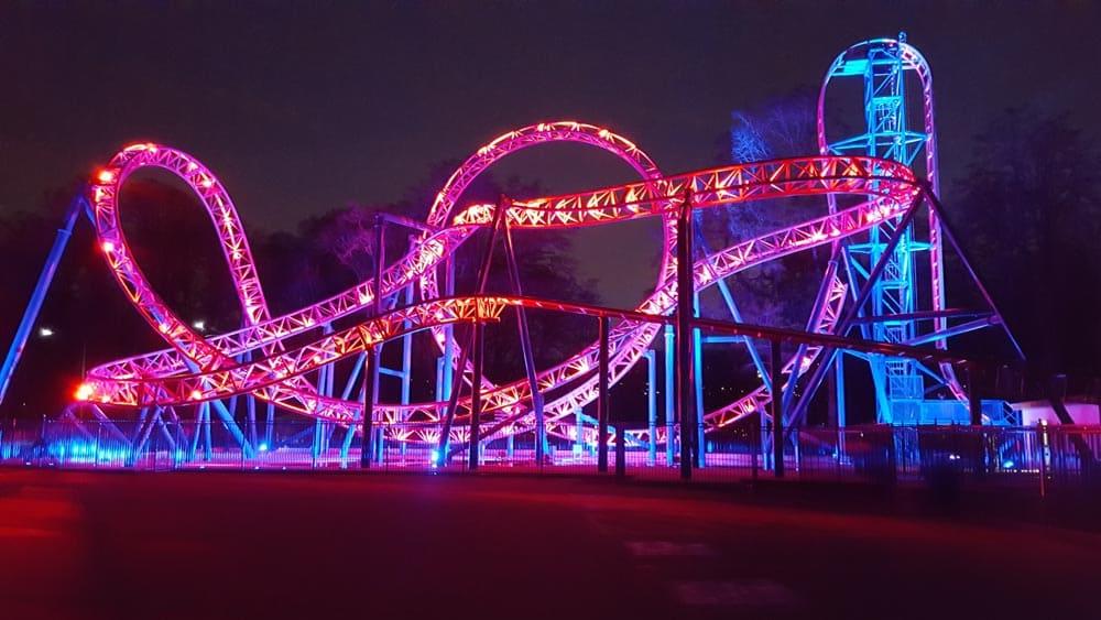 Adrenaline Peak roller-coaster