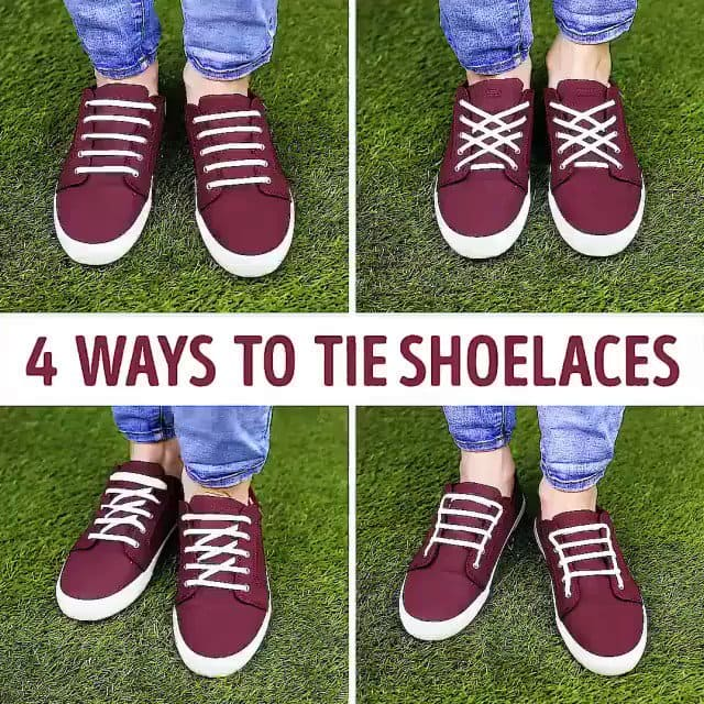 Shoelace patterns