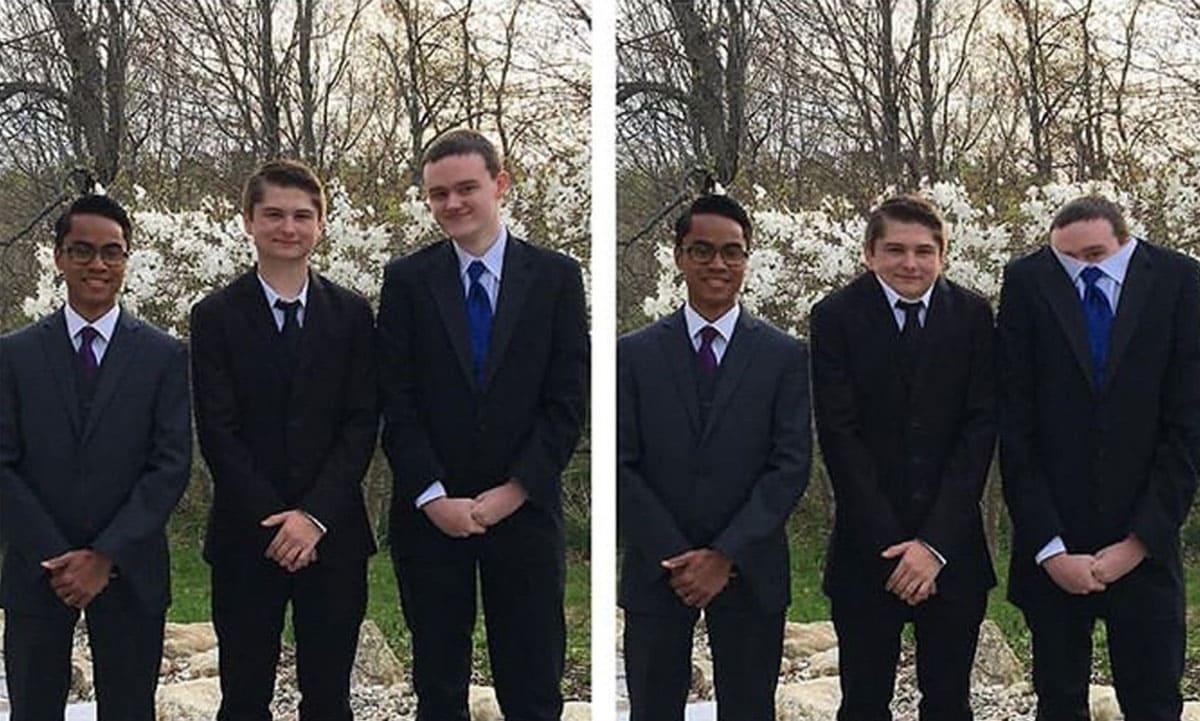 James shrunk their heads instead of their height