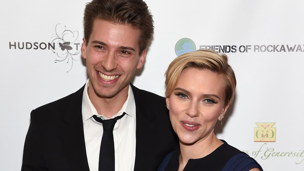 Scarlett and Hunter Johansson