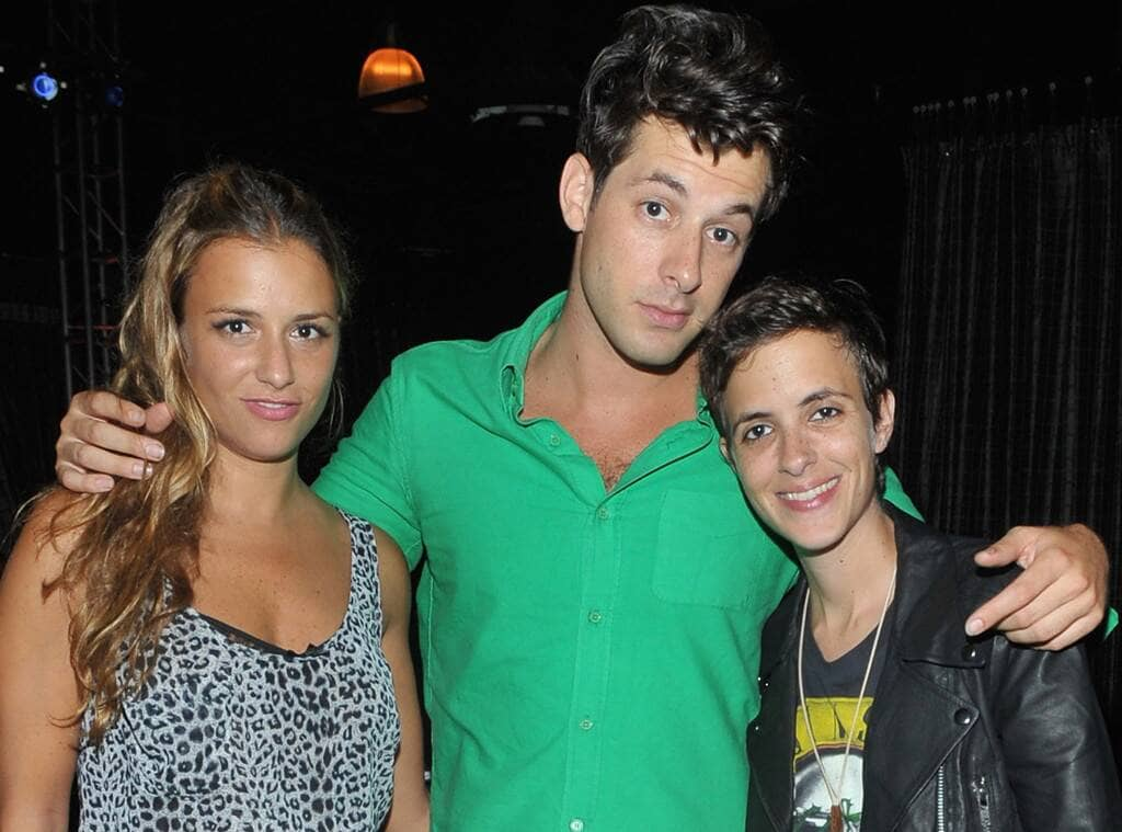 Charlotte, Mark, and Samantha Ronson