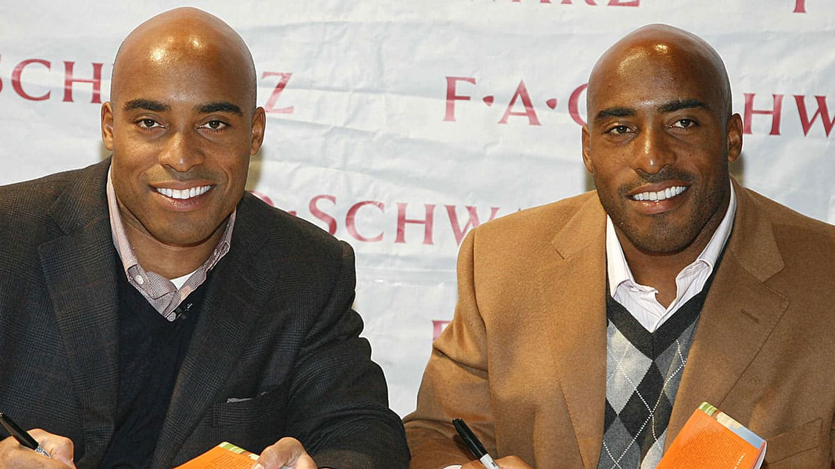 Ronde and Tiki Barber