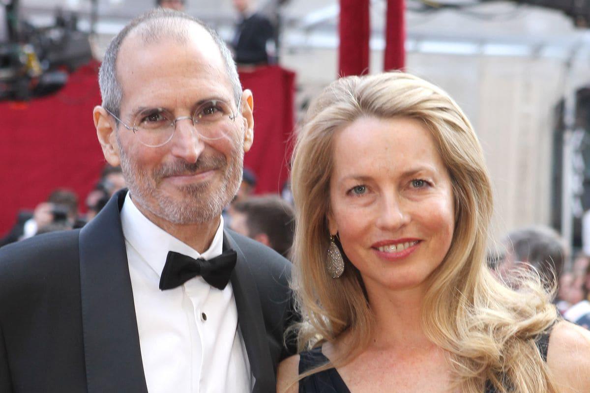 Laurene Powell Jobs and Steve Jobs
