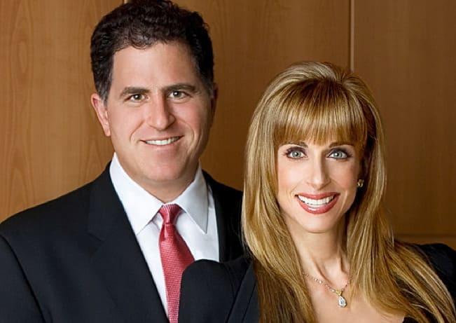 Susan Dell and Michael Dell