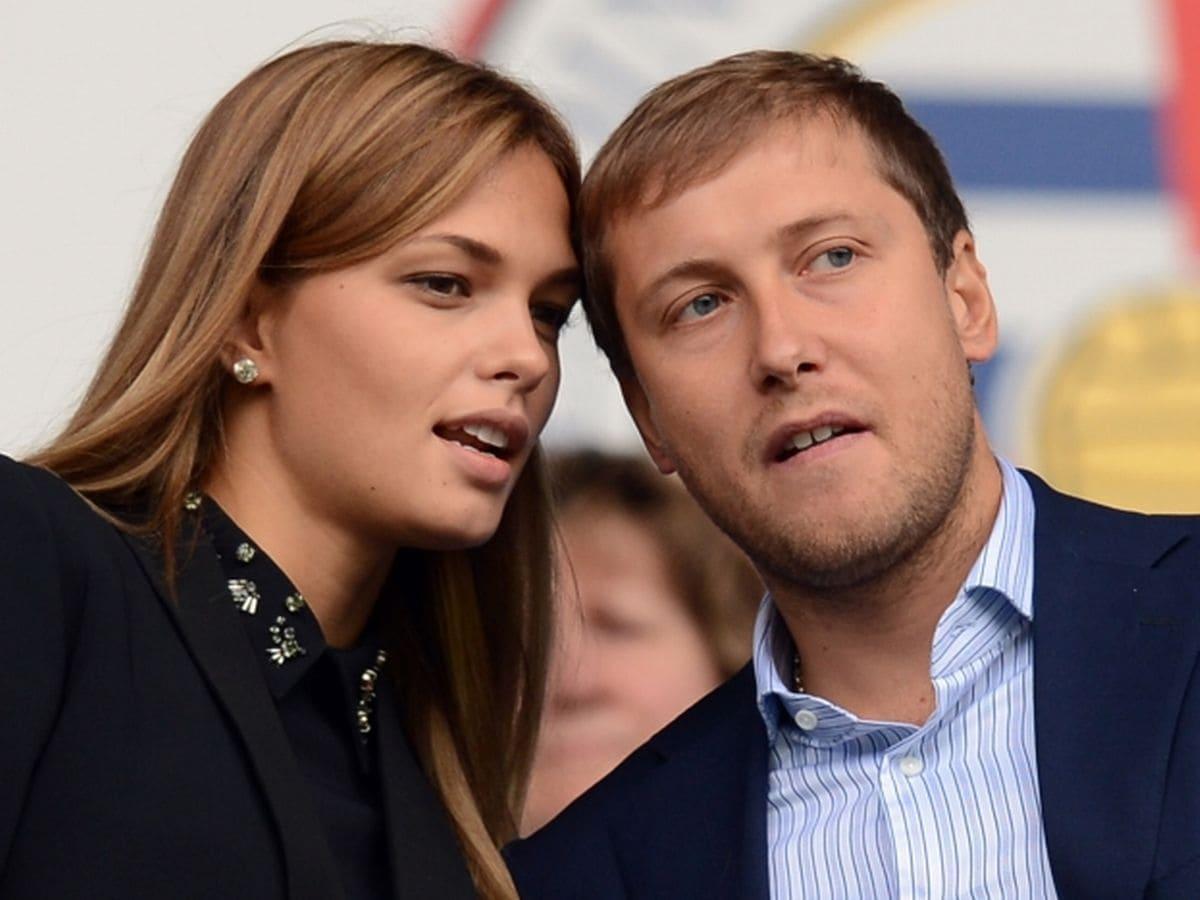 Katsia Zingarevich and Anton Zingarevich