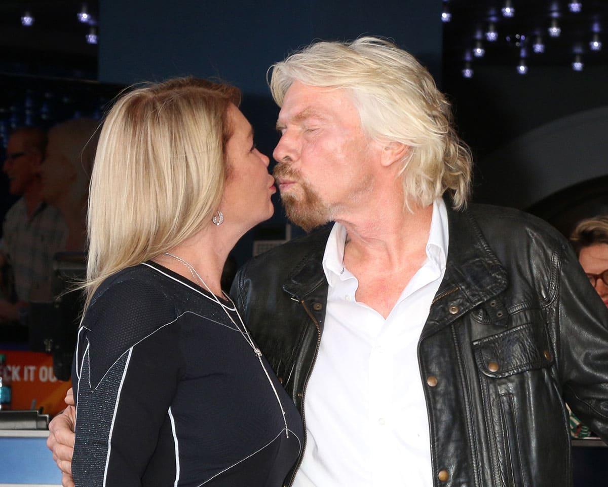 Richard Branson and Joan Branson