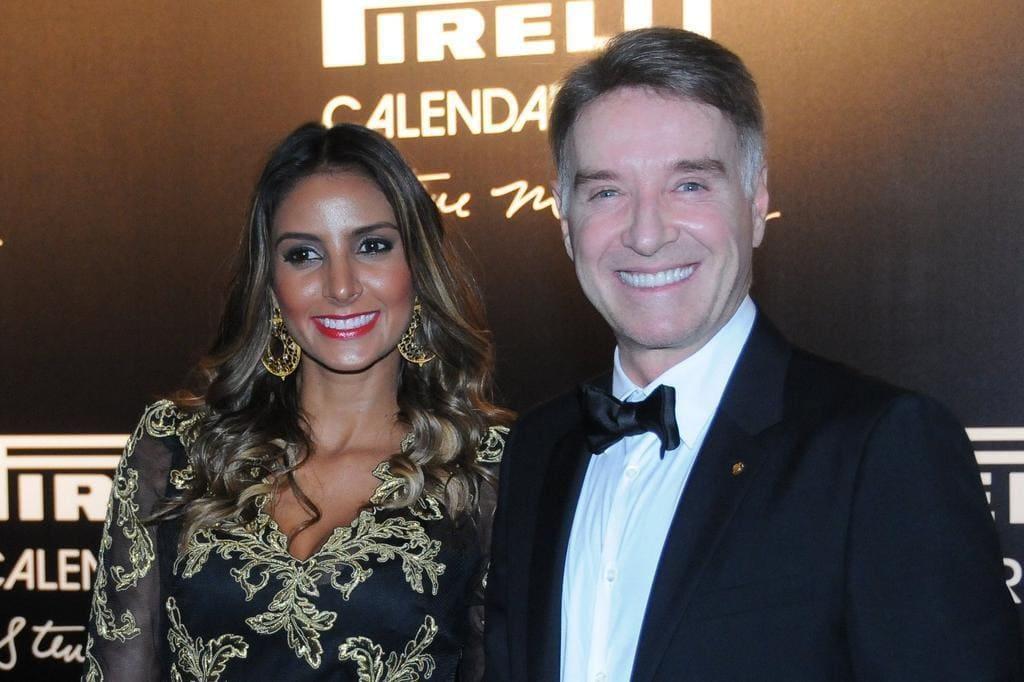 Flavia Sampaio and Eike Batista