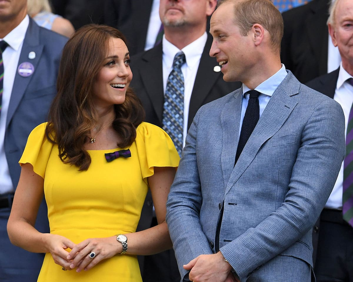 Kate Middleton, the wife of Prince William