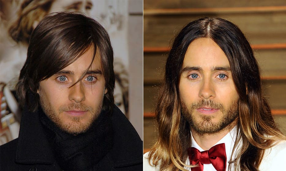 Jared Leto then and now