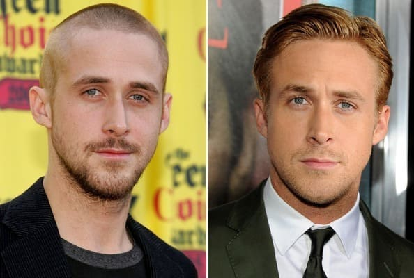 Ryan Gosling then and now