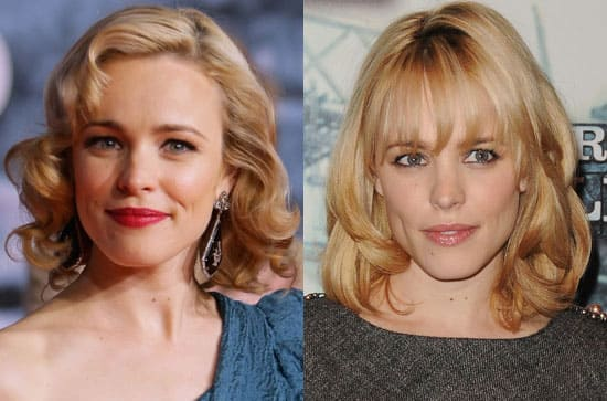 Rachel McAdams then and now