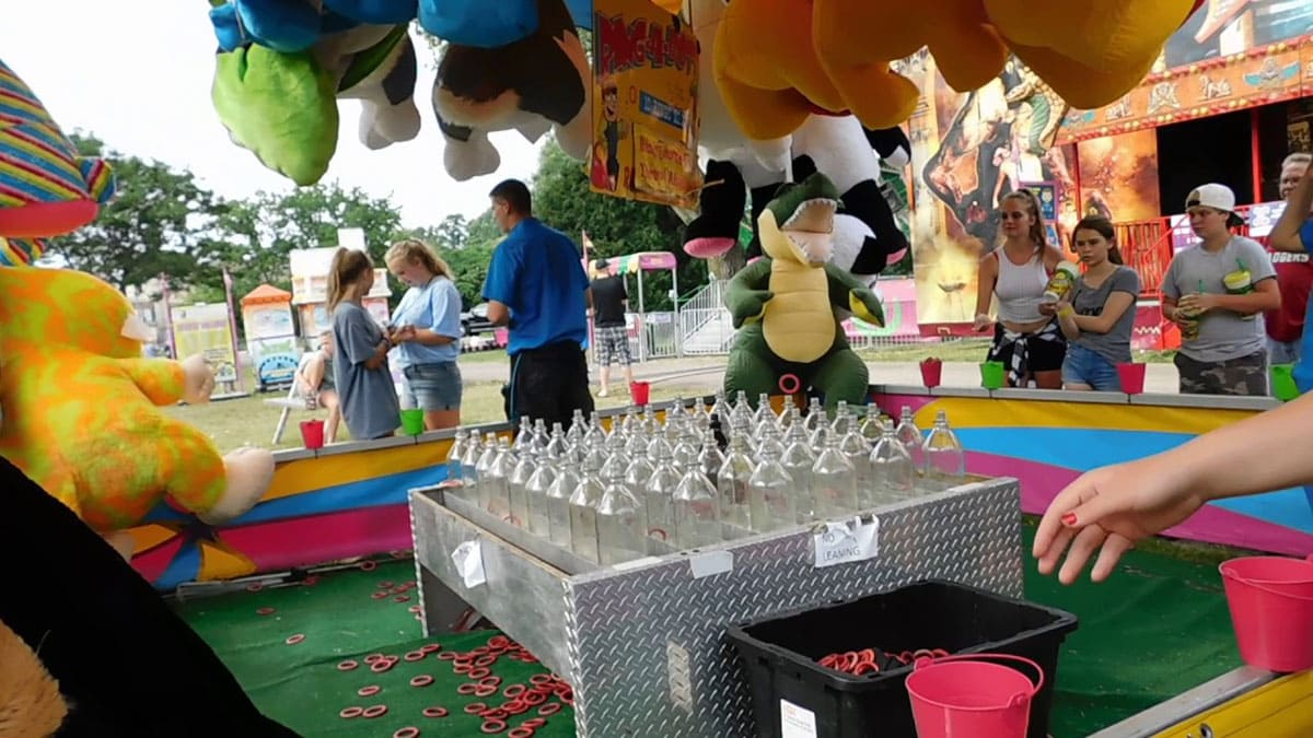 Ring-Toss Game