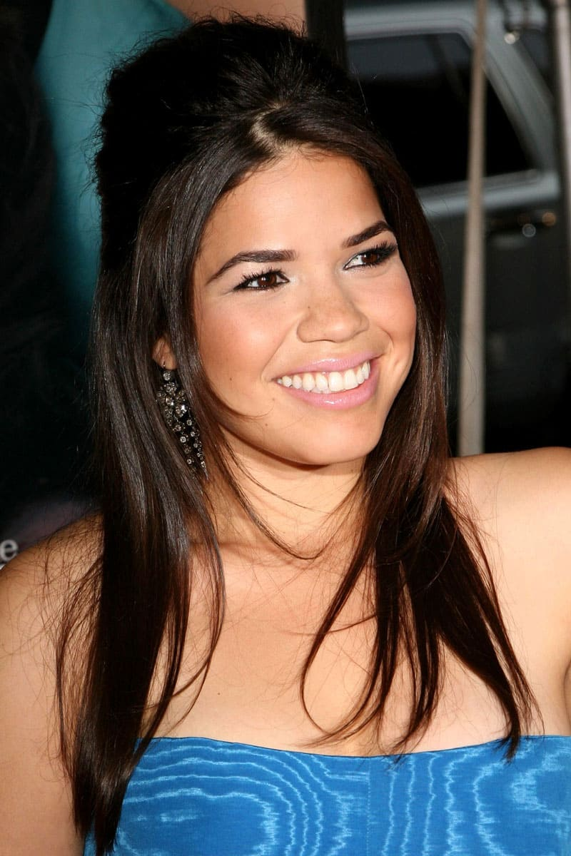 America Ferrera smiling