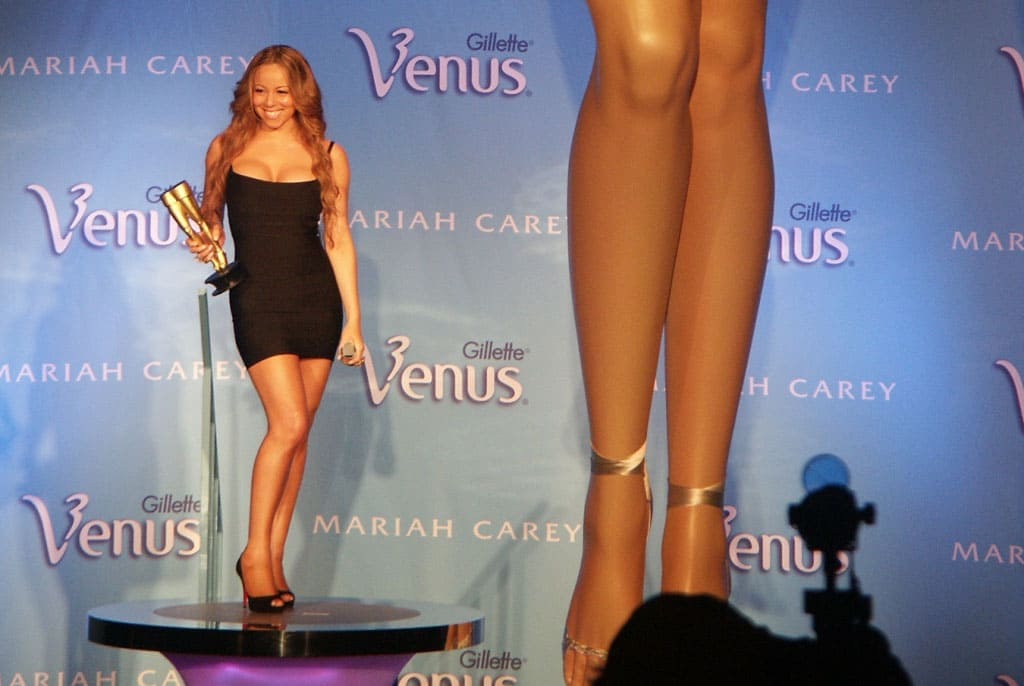 Mariah Carey and her legs