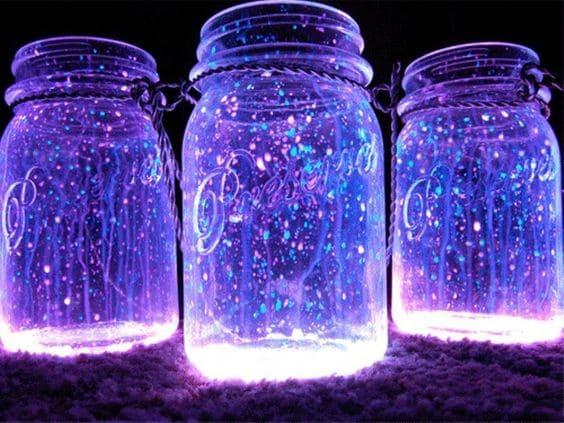 Mason jar fairy light