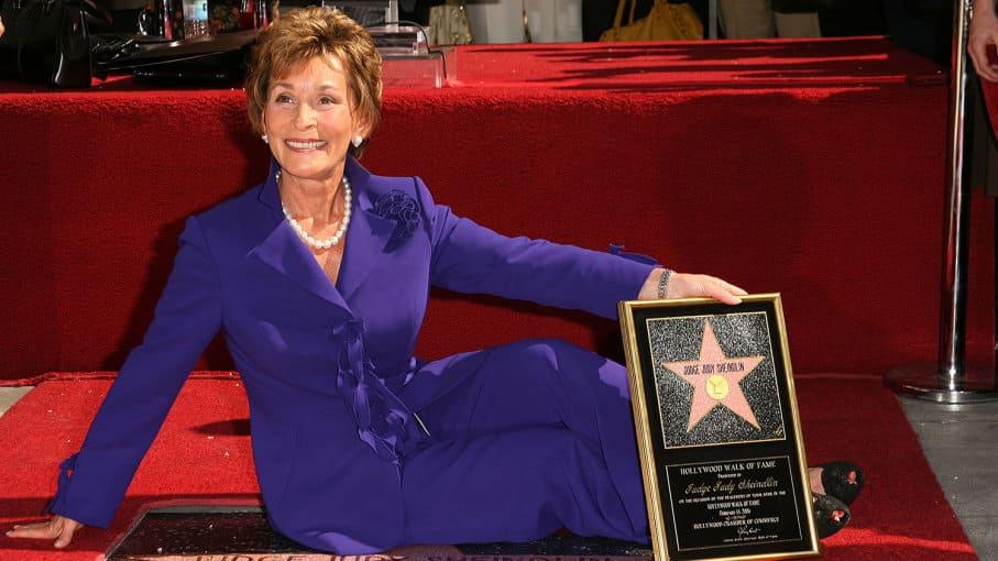 Judge Judy star of fame