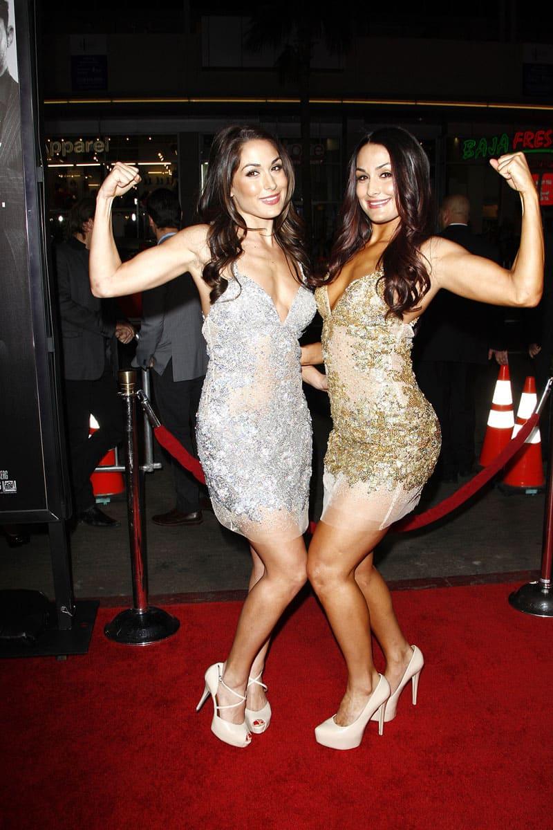 Brie and Nikki Bella