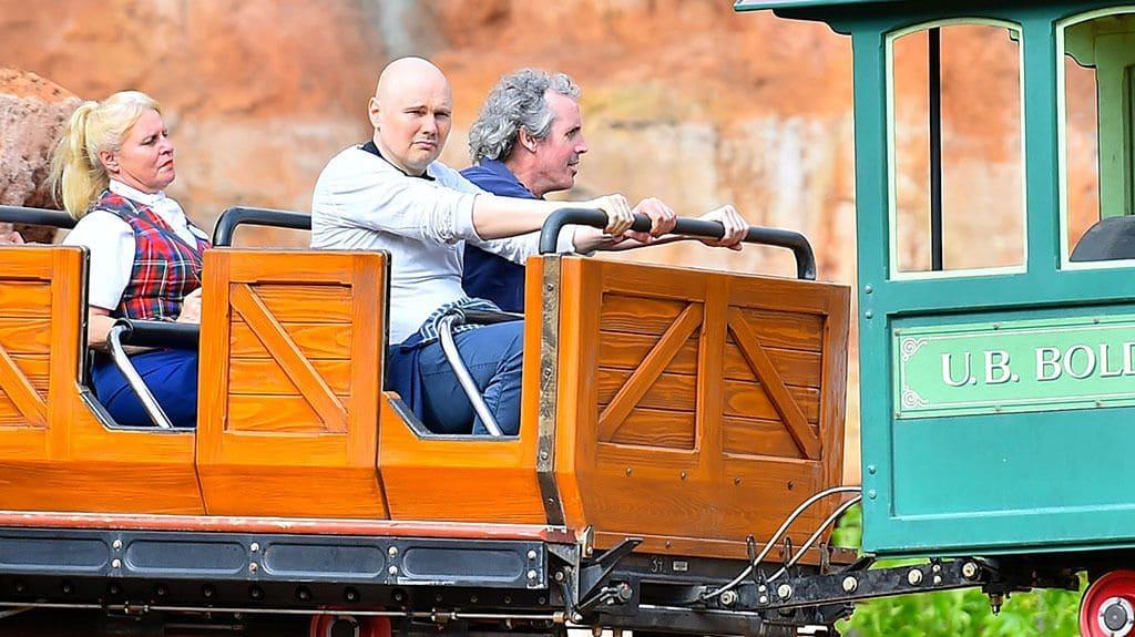 Billy Corgan on a roller coaster