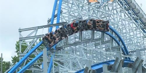 Twisted Cyclone Roller Coaster