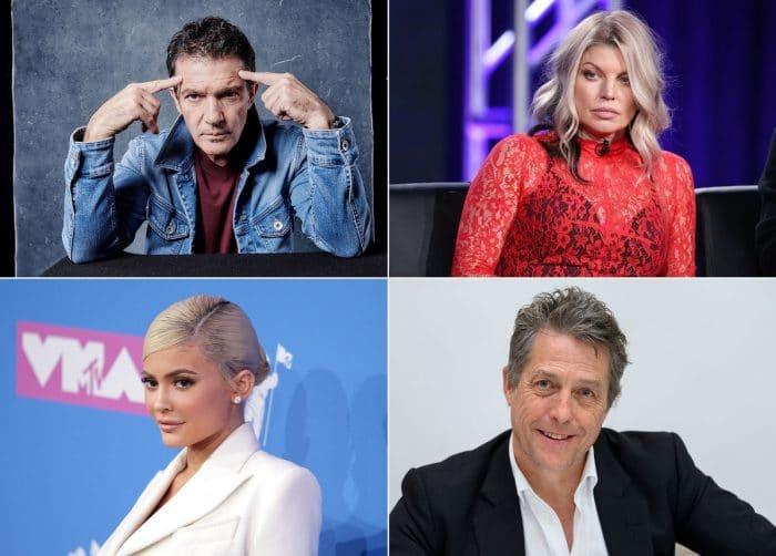 Antonio Banderas, Fergie Duhamel , Kylie Jenner, Hugh Grant