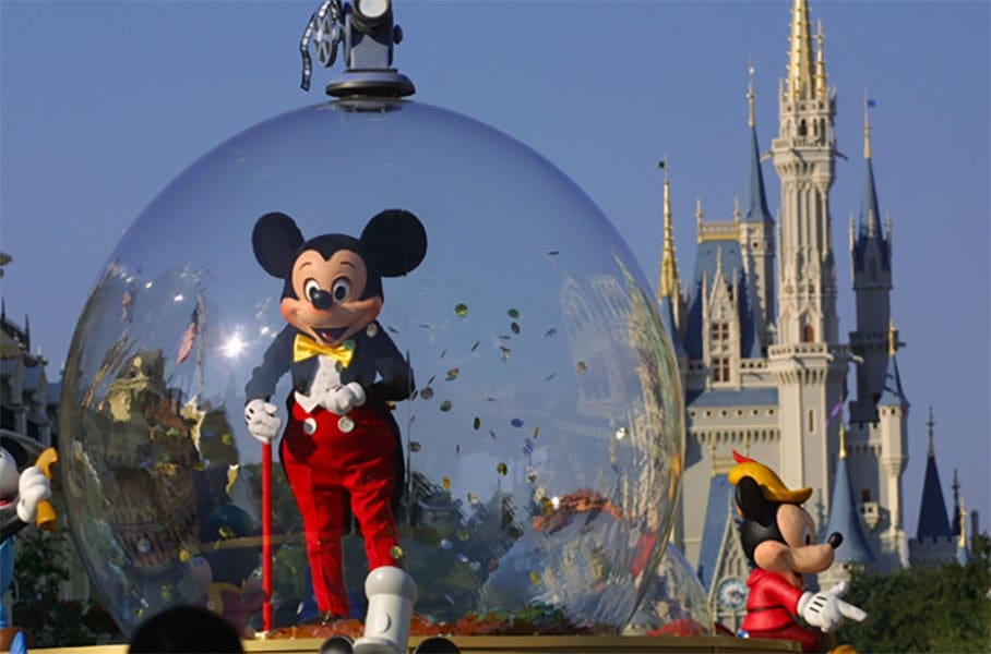 Micky Mouse in a Bubble