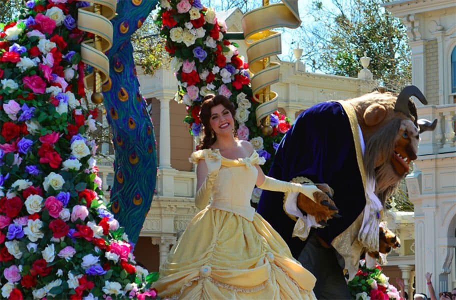 The Beauty and the beast costume