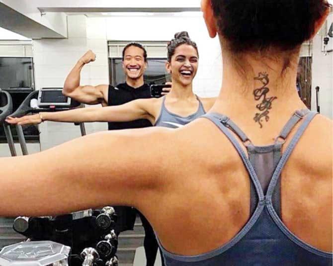 Deepika Padukone's tattoo