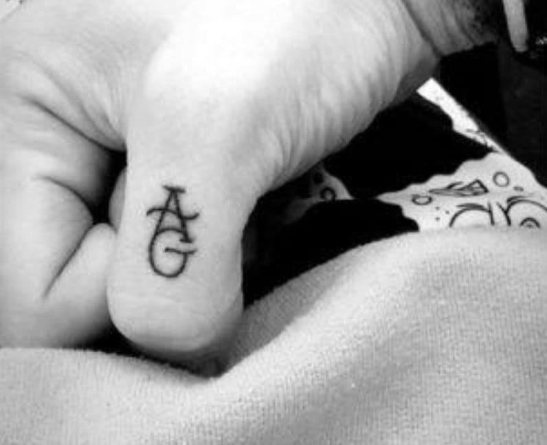 Pete Davidson's tattoo