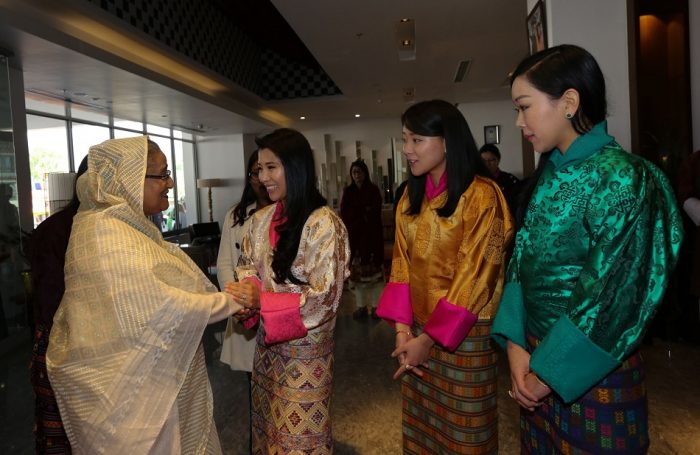 Prime Minister of Bangladesh Sheikh Hasina visit to Bhutan - 18 Apr 2017