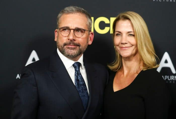 Steve Carell and Nancy Carell 'Vice' film premiere, Arrivals, Los Angeles, USA - 11 Dec 2018